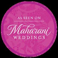 AS SEEN ON MAHARANI WEDDINGS